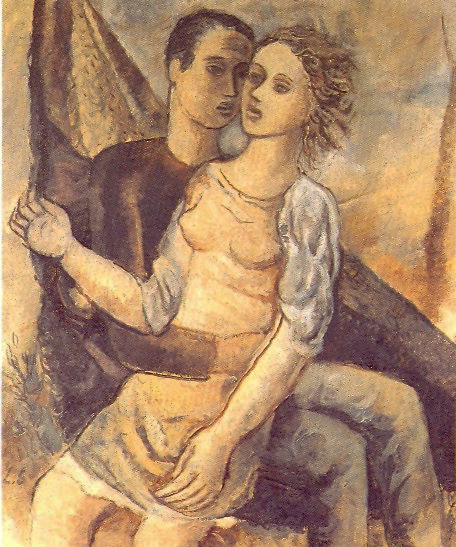 Casal na rede,1947