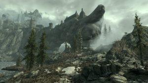 Cena do jogo Skyrim (2011)