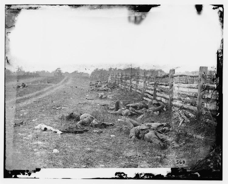 Fotografia de Alexander Gardner, em A fotografia descobre a América (Biblioteca do Congresso/EUA)