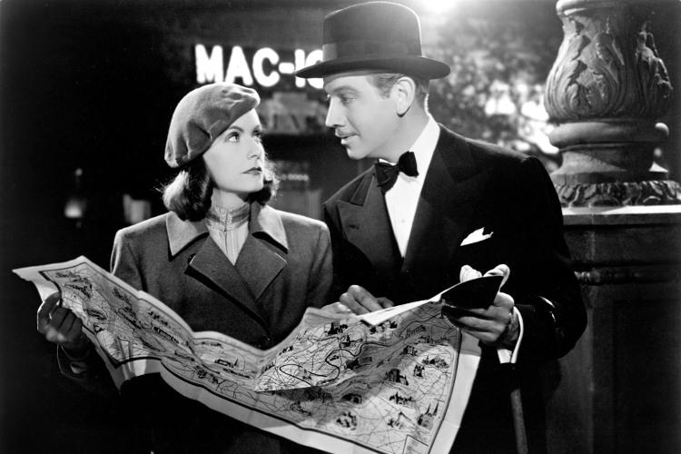 Cena de Ninotchka (EUA, 1939), de Ernst Lubitsch