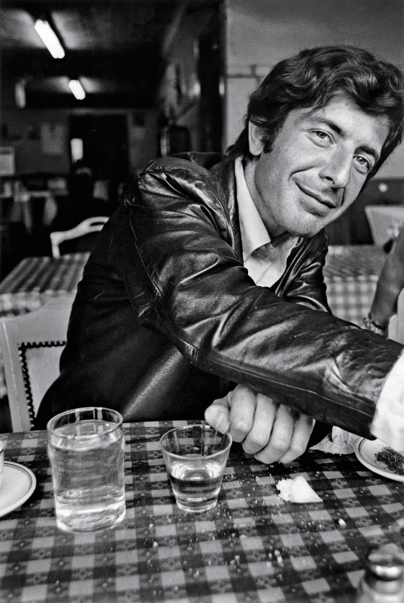 Leonard Cohen em setembro de 1967