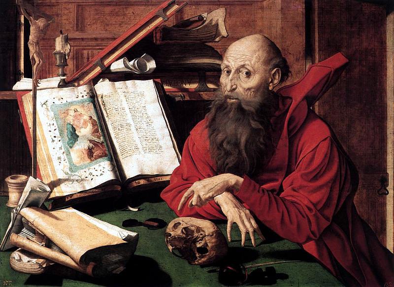 São Jerônimo, de Marinus van Reymerswaele (1541)