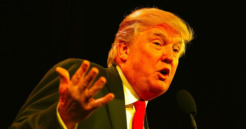 Donald Trump durante a campanha pela presidência