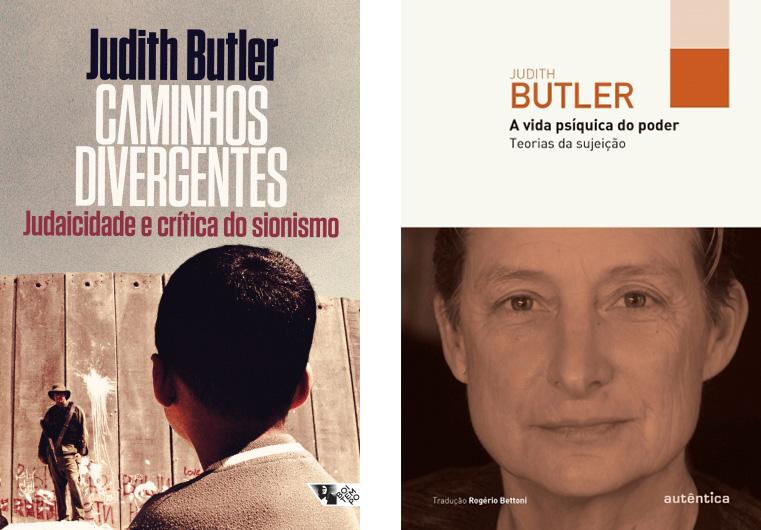 Capa dos livros de Judith Butler