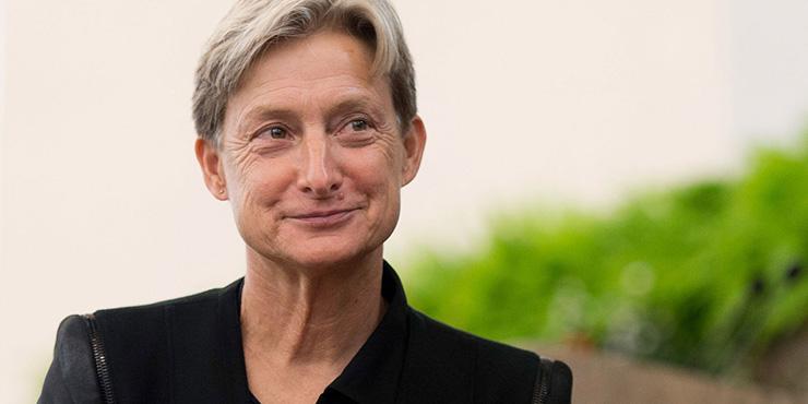 Judith Butler na imagem