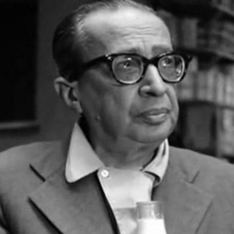 O poeta Manuel Bandeira (1886-1968)